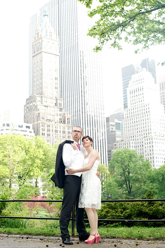 Central Park Marriage