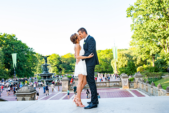 NYC wedding locations - Bethesda Terrace and Fountain