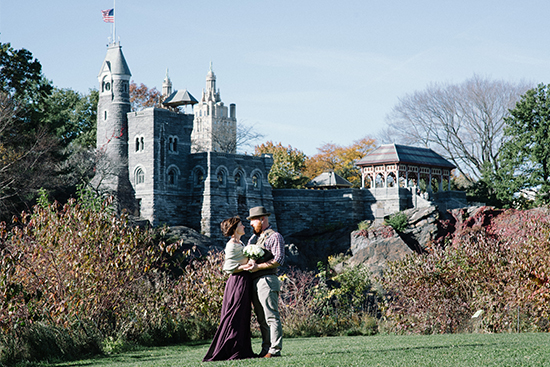 NYC wedding locations - Belvedere Castle