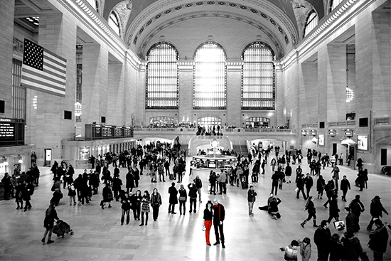 NYC wedding locations - Grand Central Station