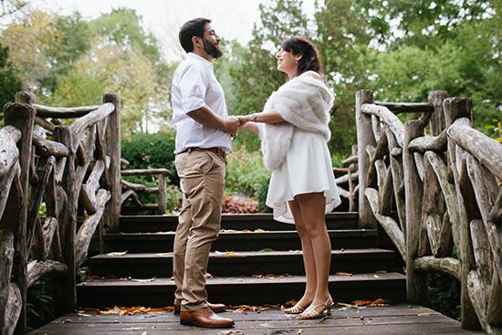 NYC wedding locations - Shakespeare Garden
