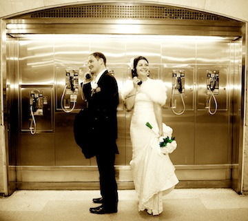 Elopement in Grand Central NYC