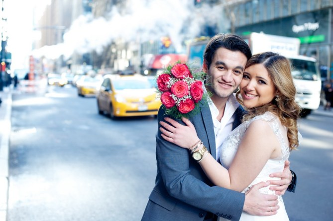 Elopement in NY City Hall