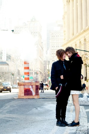 Elopement wedding in NYC with NY1 Minute