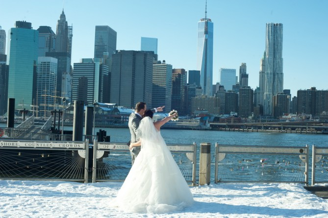 Elope in NYC in the winter
