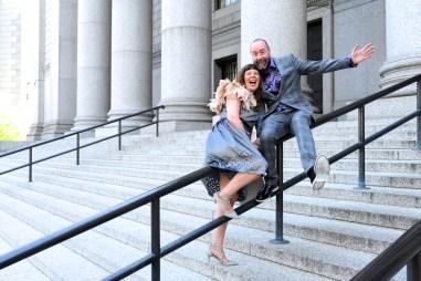 NYC elopement Wedding