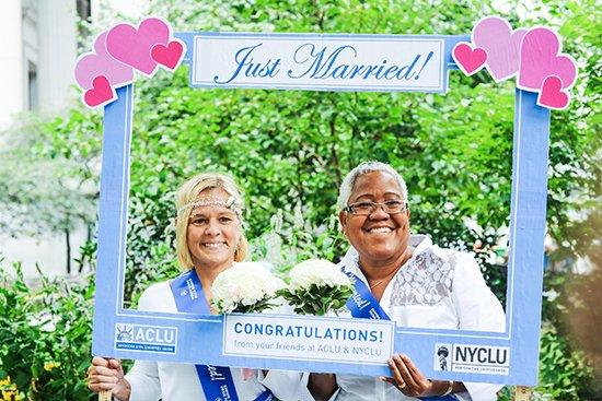 Same Sex Marriage NYC - NY1 Minute 02