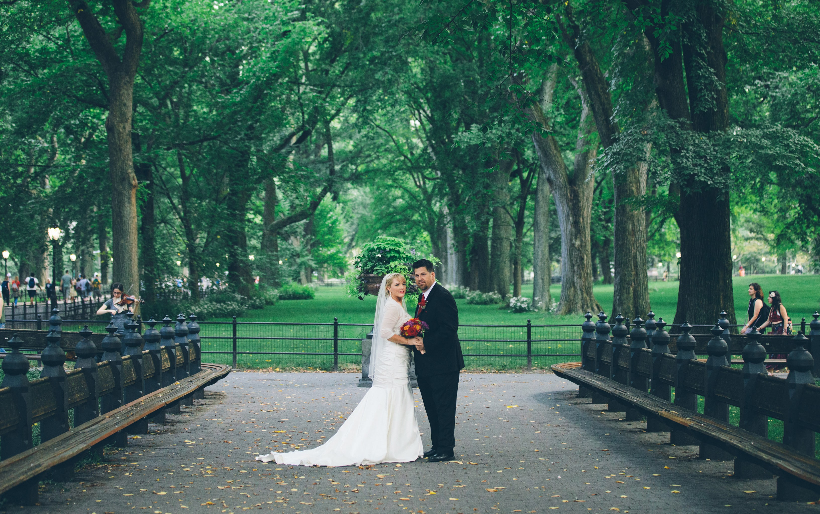 Book A Central Park Wedding Package