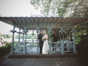 Central Park Wedding at Ladies Pavilion