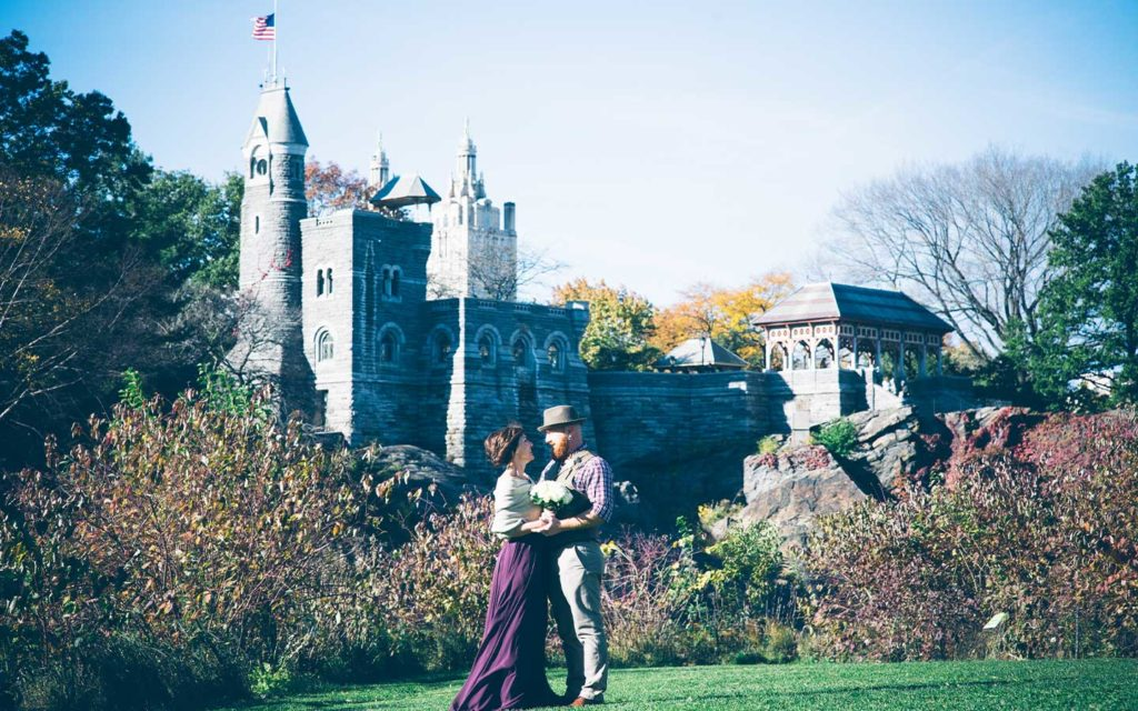 Belvedere Castle Central Park Wedding Location